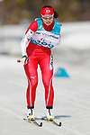 Yurika Abe (JPN), <br /> MARCH 14, 2018 - Cross-Country Skiing : <br /> Women's Sprint 1.5 km Standing Qualification<br /> at Alpensia Biathlon Centre   <br /> during the PyeongChang 2018 Paralympics Winter Games in Pyeongchang, South Korea. <br /> (Photo by Yusuke Nakanishi/AFLO SPORT)