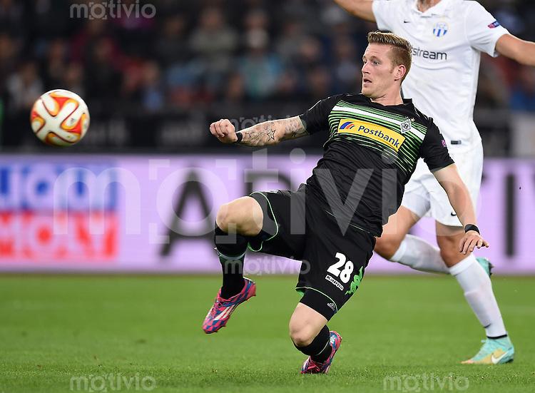 FUSSBALL   INTERNATIONAL   UEFA EUROPA LEAGUE   SAISON 2014/2015 FC Zuerich - VfL Borussia Moenchengladbach    02.10.2014 Andre Hahn (Borussia Moenchengladbach) am Ball