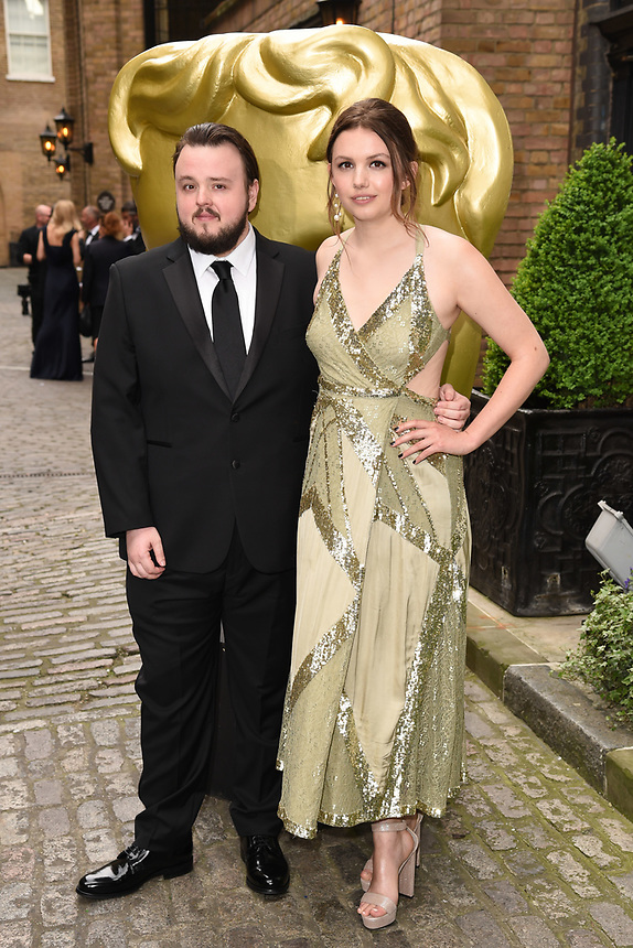 John Bradley and Hannah Murray<br /> arriving for the BAFTA Craft Awards 2018 at The Brewery, London<br /> <br /> ©Ash Knotek  D3398  22/04/2018