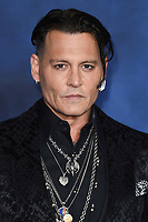 LONDON, UK. November 13, 2018: Johnny Depp at the &quot;Fantastic Beasts: The Crimes of Grindelwald&quot; premiere, Leicester Square, London.<br /> Picture: Steve Vas/Featureflash