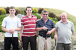 Steven Darcy, Vincent Prone, Darragh Prone and Andrew Bourke at the East Meath Utd Golf Classic....Photo NEWSFILE/Jenny Matthews.(Photo credit should read Jenny Matthews/NEWSFILE)....This Picture has been sent you under the condtions enclosed by:.Newsfile Ltd..The Studio,.Millmount Abbey,.Drogheda,.Co Meath..Ireland..Tel: +353(0)41-9871240.Fax: +353(0)41-9871260.GSM: +353(0)86-2500958.email: pictures@newsfile.ie.www.newsfile.ie.FTP: 193.120.102.198.