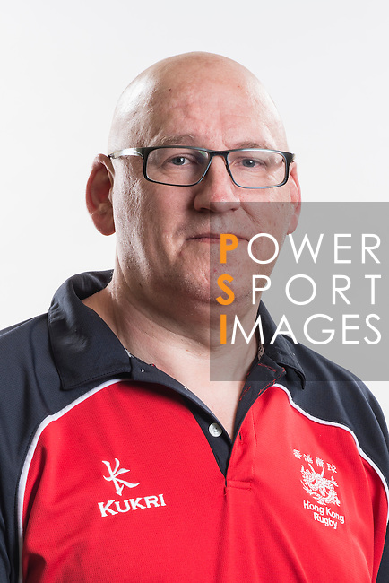 Hong Kong Junior Squad management team member Paul Renouf poses during the Official Photo Session Day at King's Park Sports Ground ahead the Junior World Rugby Tournament on 25 March 2014. Photo by Andy Jones / Power Sport Images