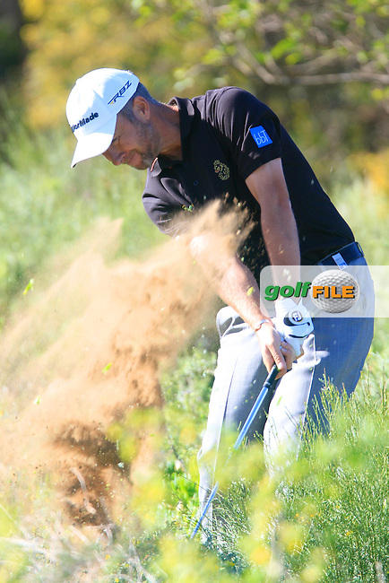 Mark Foster (ENG) in action during the first round of the 40th Trophee Hassan II played at the Golf du Palais Royal d'Agadir, Agadir, Morocco 28 - 31 March 2013. (Picture Credit / Phil Inglis) www.golffile.ie
