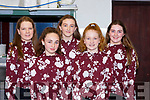 The Dromid ballad group who participated in the Scor County finals in Killarney on Saturday l-r: Ciara O'Shea, Isabelle Curran, Corinna Geary-O'Sullivan, Amanda O'sullivan, and Emily O'Shea