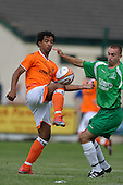 11/07/2009 Burscough FC v Blackpool FC Pre Season Friendly <br /> <br /> <br /> © Phill Heywood<br /> tel 07806 775649