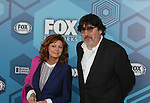 Susan Sarandon - Search for Tomorrow  & Alfred Molina - Fox Upfront - May 16, 2016 at Wollman Rink, Central Park, New York City, New York. (Photo by Sue Coflin/Max Photos)