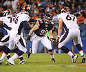 SHEA MCCLELLIN (99), of the Chicago Bears, in action during the Bears preseason game against the Denver Broncos on August 9, 2012 at Soldier Field in Chicago, IL. The Broncos beat the Bears 31-3.