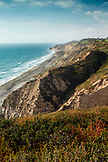 USA, California, San Diego, the rolling hills located inside Torrey Pines State Beach in La Jolla