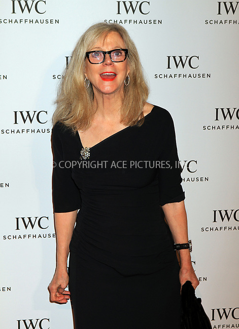 WWW.ACEPIXS.COM....April 18 2013, New York City....Blythe Danner arriving at the IWC And Tribeca Film Festival Celebrate 'For The Love Of Cinema' event at Urban Zen on April 18, 2013 in New York City.....By Line: Nancy Rivera/ACE Pictures......ACE Pictures, Inc...tel: 646 769 0430..Email: info@acepixs.com..www.acepixs.com