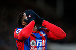 Crystal Palace's Wilfred Zaha looks on dejected during the premier league match at Selhurst Park Stadium, London. Picture date 12th December 2017. Picture credit should read: David Klein/Sportimage