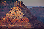 Vishnu Temple seen from Grandview Point, Grand Canyon National Park, AZ, USA