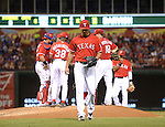 Yu Darvish (Rangers),<br /> SEPTEMBER 24, 2013 - MLB :<br /> Yu Darvish of the Texas Rangers is pulled by manager Ron Washington #38 in the sixth inning during the Major League Baseball game against the Houston Astros at Rangers Ballpark in Arlington in Arlington, Texas, United States. (Photo by AFLO)