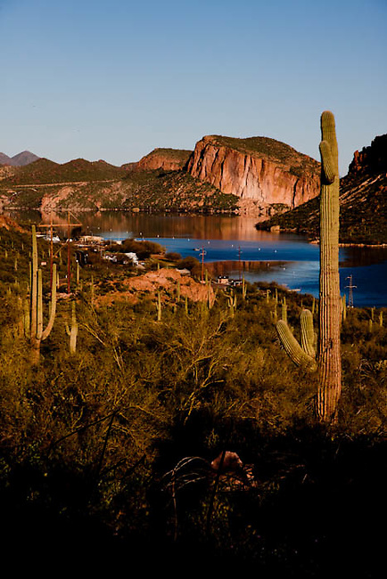 picture of apache lake arizona Stock Photo of Arizona USA