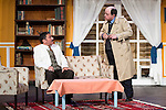 """Jose Luis Gago and Antonio M. at """"Usted puede ser un asesino"""" Theater play in Muñoz Seca Theater, Madrid, Spain, September 07, 2015. <br /> (ALTERPHOTOS/BorjaB.Hojas)"""