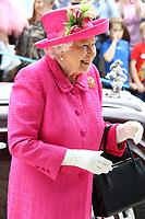JUL 09 Queen Elizabeth II opens the new Royal Papworth Hospital in Cambridge