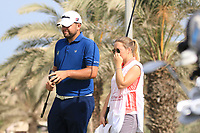 Jack Senior (ENG) in action during round 3, Ras Al Khaimah Challenge Tour Grand Final played at Al Hamra Golf Club, Ras Al Khaimah, UAE. 02/11/2018<br /> Picture: Golffile | Phil Inglis<br /> <br /> All photo usage must carry mandatory copyright credit (&copy; Golffile | Phil Inglis)