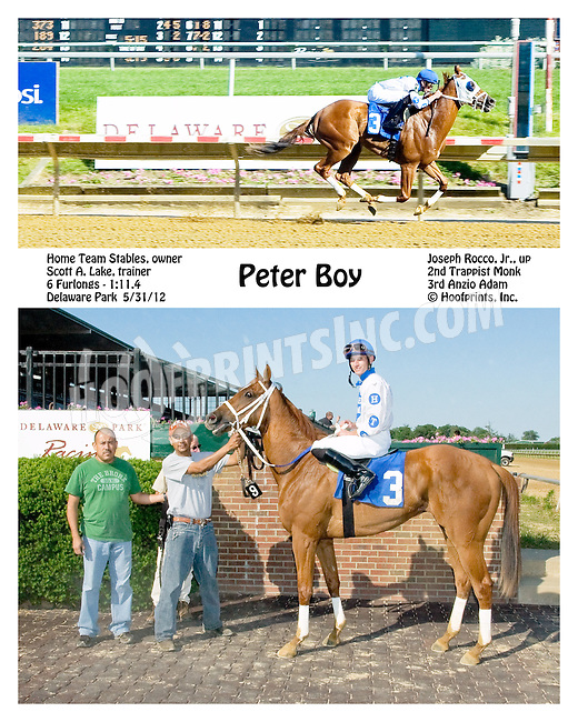 Peter Boy winning at Delaware Park on 5/31/12