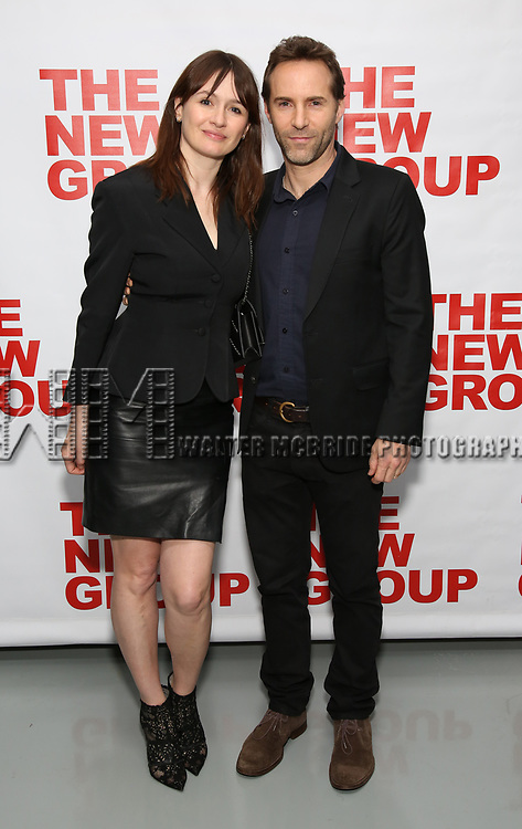 Emily Mortimer and Alessandro Nivola attends the World Premiere of Hamish Linklater's 'The Whirligig' at Green Fig's Social Drink and Food Club Terrace on May 21, 2017 in New York City.