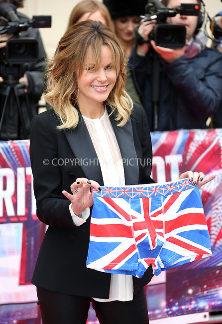 WWW.ACEPIXS.COM....US Sales Only....April 11 2013, London....Amanda Holden at the photocall for Britain's Got Talent on April 11 2013 in London ....By Line: Famous/ACE Pictures......ACE Pictures, Inc...tel: 646 769 0430..Email: info@acepixs.com..www.acepixs.com