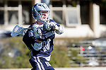 Los Angeles, CA 03/12/16 - Trevin Roberts (Utah State #16) in action during the Utah State vs Loyola Marymount MCLA Men's Division I game at Leavey Field at LMU.  Utah State defeated LMU 17-4.