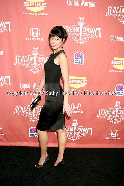 """Mary Elizabeth Winstead.Spike TV's """"Scream 2007"""" Awards.The Greek Theater.Los Angeles,  CA.October 19, 2007.©2007 Kathy Hutchins / Hutchins Photo...               ."""