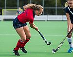 AMSTELVEEN  - Mila Muyselaar (Lar), hoofdklasse hockeywedstrijd dames Pinole-Laren (1-3). COPYRIGHT  KOEN SUYK