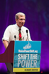 Tom Steyer, CEO of Next Gen Climate Action talks at Powershift. Over six thousand young people from all over the country are converging in Pittsburgh, PA for Power Shift 2013, a massive training dedicated to bringing about a safe planet and a just future for all people. (Photo by: Robert van Waarden)