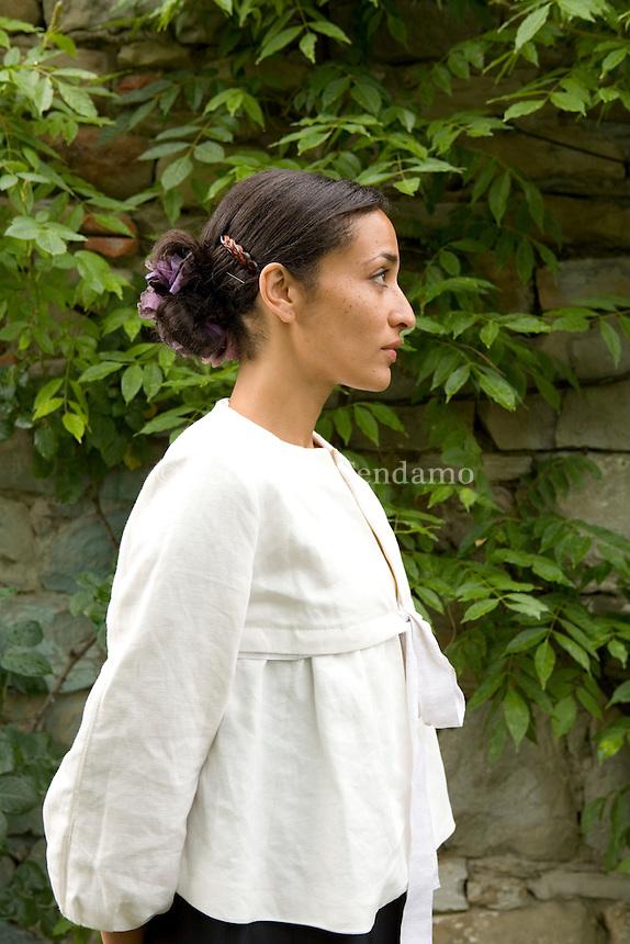 Santa Maddalena Foundation, Florence, Italy, 2007. Zadie Smith, English writer.