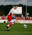 Andy Drury of Stevenage Borough during the Blue Square Premier match between Stevenage Borough and Hayes and Yeading United at the Lamex Stadium, Broadhall Way, Stevenage on 10th October, 2009..© Kevin Coleman 2009 .