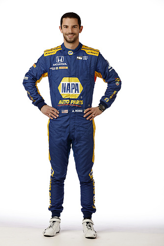 2018 IndyCar Media Day - Driver portraits<br /> Phoenix Raceway, Avondale, Arizona, USA<br /> Wednesday 7 February 2018<br /> Alexander Rossi, Andretti Autosport Honda<br /> World Copyright: Michael L. Levitt<br /> LAT Images<br /> ref: Digital Image