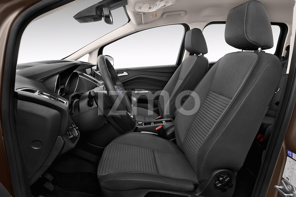 Front seat view of 2015 Ford Grand C-Max Titanium 5 Door Mini Mpv Front Seat  car photos
