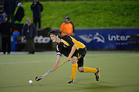 Action from the Wellington Hockey Premier 1 boys final - Wellington College v Wairarapa College at National Hockey Stadium, Wellington, New Zealand on Friday 20 September.<br />