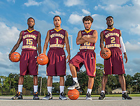 September 22, 2016 - Daytona Beach, FL, U.S: Bethune Cookman Marketing Photo Shoot Athletic Department in Daytona Beach, Fl.