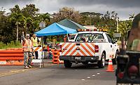PAHOA, HI - June 2, 2018:  Atmosphere around Hawaii's Kilauea Volcano in Pahoa, HI on June 2, 2018. <br /> CAP/MPI/EKP<br /> &copy;EKP/MPI/Capital Pictures