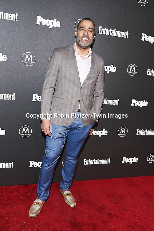 Anthony Mendez of &quot;Jane the Virgin&quot; attends the Entertainment Weekly &amp; PEOPLE Magazine New York Upfronts Celebration on May 16, 2016 at Cedar Lake in New York, New York, USA.<br /> <br /> photo by Robin Platzer/Twin Images<br />  <br /> phone number 212-935-0770
