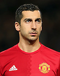 Henrikh Mkhitaryan of Manchester United during the UEFA Europa League match at Old Trafford, Manchester. Picture date: November 24th 2016. Pic Matt McNulty/Sportimage