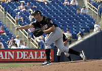 April 18, 2004:  Pitcher Ehren Waserman of the Kannapolis Intimidators, Low-A South Atlantic League affiliate of the Chicago White Sox, during a game at Classic Park in Eastlake, OH.  Photo by:  Mike Janes/Four Seam Images