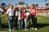 18 November 2006: Nick Frank during Stanford's 30-7 loss to Oregon State at Stanford Stadium in Stanford, CA.