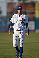 April 7th 2010: Marwin Gonzalez of the Daytona Cubs , Florida State League High-A affiliate of the Chicago Cubs in the game against Embry-Riddle Aeronautical University at Jackie Robinson Ballpark in Daytona Beach, FL (Photo By Scott Jontes/Four Seam Images)