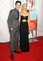 NEW YORK CITY, NY, USA - JULY 14: Zach Braff, Kate Hudson at the New York Screening Of Focus Features' 'Wish I Was Here' held at the AMC Lincoln Square Theater on July 14, 2014 in New York City, New York, United States. (Photo by Celebrity Monitor)