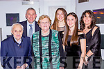Beaufort athlete Fiona Doyle and her family at the Kerry Sports Star awards in the Malton Hotel on Friday night l-r: Denis, Mary, David, Aoife, Fiona and Annemarie Doyle