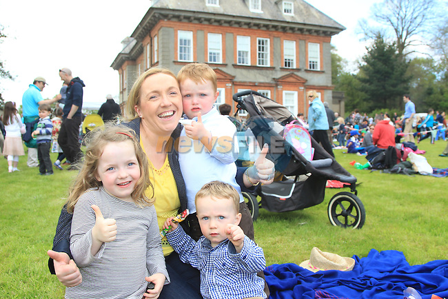 Philipa, Peter and Harry and Clodeen McGrane.at Beaulieu Sounds Beautiful..Picture:  www.newsfile.ie ..