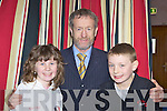 Katie O'Neill and John Anthony Harrington meets Sean Kelly MEP at the official opening of Killarney Martial Arts Academy on Saturday morning..