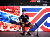 30th July 2020, Silverstone, Northampton, UK;  FIA Formula One World Championship 2020, Grand Prix of Great Britain, Daniil Kvyat RUS, Scuderia AlphaTauri Honda
