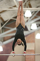 STANFORD, CA - JANUARY 22:  Carly Janiga of the Stanford Cardinal during Stanford's 196.775-194.600 win against the Arizona State Sun Devils on January 22, 2009 at Burnham Pavilion in Stanford, California.