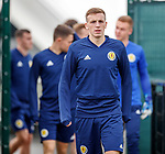 02.09.2019 Scotland u-21 training, Oriam, Edinburgh.<br /> Midfielder Lewis Ferguson of Aberdeen FC arrives for training ahead of the upcoming UEFA European Under-21 Championship Qualifier against San Marino this Thursday evening in Paisley.