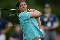 World champion curling skip Eve Muirhead during The 2017 Celebrity Cup golf tournament at the Celtic Manor Resort, Newport, South Wales. 1.07.2017 <br /> <br /> <br /> Jeff Thomas Photography -  www.jaypics.photoshelter.com - <br /> e-mail swansea1001@hotmail.co.uk -<br /> Mob: 07837 386244 -