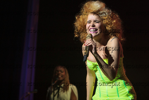 Paloma Faith - performing Live at the Apollo in Manchester UK - 23 Jan 2013.  Photo credit: Mike Gatiss/Music Pics Ltd/IconicPix