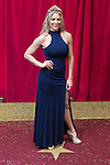© Licensed to London News Pictures . 16/05/2015 .  The Palace Hotel , Manchester , UK . GEMMA ATKINSON . The red carpet at the 2015 British Soap Awards , The Palace Hotel , Oxford Road , Manchester . Photo credit : Joel Goodman/LNP