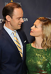 Harry Hadden-Paton and Rebecca Night during the arrivals for the 2018 Drama Desk Awards at Town Hall on June 3, 2018 in New York City.